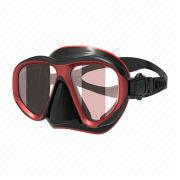 China Unisex Adjustable Mask/Quality Child Swim Goggles, Silicone, Tempered Glass Materials