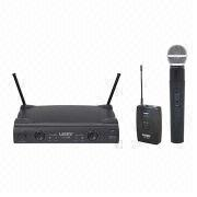 Dual Channel Wireless Microphone from China (mainland)