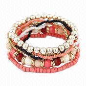 Multi-layered Beaded Bracelet from China (mainland)