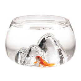 Man-made Landscape Bowl Glass Fish Tanks from China (mainland)
