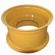 Yellow colored 3-piece OTR wheel rim from China (mainland)