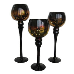 China Glass Candle Holders
