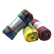 Solid and Printed Micro Flannel Fleece Blankets from China (mainland)