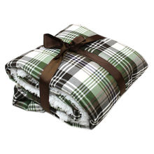 Solid and Printed Polar Fleece Blanket from China (mainland)