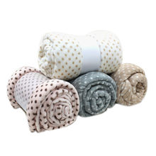 China Solid and Printed Micro Flannel Fleece Blankets