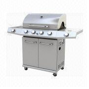 4-burner stainless steel gas barbecue grill from China (mainland)