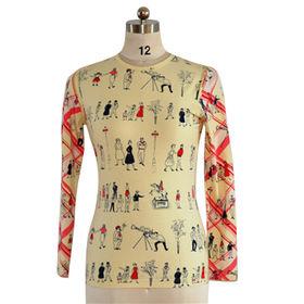 Women's Round Neck T-shirts from China (mainland)