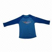 Boys' Long-sleeved T-shirts from China (mainland)