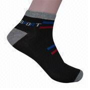 Men's socks from China (mainland)
