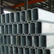 Galvanized Rectangular-shaped Steel Tubes from China (mainland)