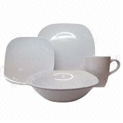 Fine stoneware glazed dinner set Manufacturer
