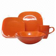 16-PC color glazed dinner set Manufacturer