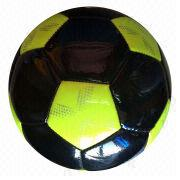 5# shiny TPU machine-stitched soccer ball from China (mainland)