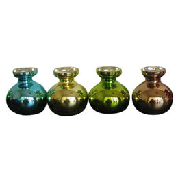 Mini Sprayed Colors Mercury Glass Vases from China (mainland)