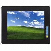 17-inch Industrial LCD PC Monitor,USB/RS232 Touchscreen from China (mainland)