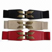 Wide elastic belt from China (mainland)