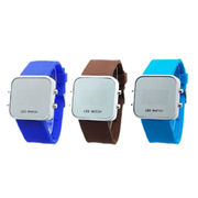 Mirror glass watch from China (mainland)