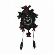 Plastic Wall Clock from China (mainland)