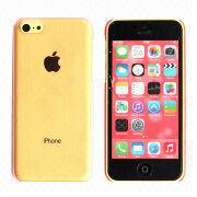 Cheap Transparent Plastic Mobile Phone Case for iPhone 5C from China (mainland)