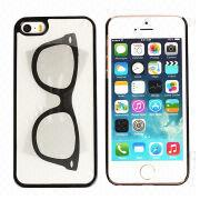 Glass Pattern Plastic 3D Cell Phone Cases for iPhone 5 from China (mainland)