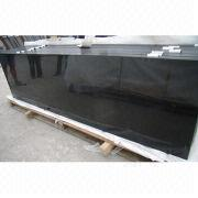 Pure black granite countertop from China (mainland)