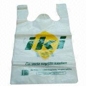 T-shirt Plastic bag from China (mainland)
