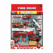 Die-cast Fire Truck Set from China (mainland)