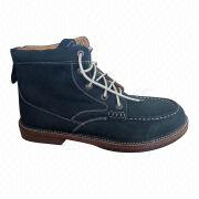 Nubuck leather casual shoes from China (mainland)