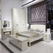 White Colour Modern Style Wood Italian Bedroom Furniture