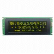 240x64 DOTS Graphics LCM, 17-pin Interface, T6963 from Xiamen Ocular Optics Co. Ltd