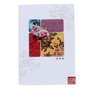 Handmade Korea traditional greeting cards from South Korea