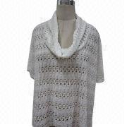 Ladies' Knitted T-shirt from China (mainland)