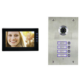 China Apartment Building Video Intercom System