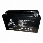 China GEL Battery, 12V/65Ah Maintenance-free and Greater Resistance to Extreme Temperature