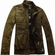 2014 New Style Brand Name Fashion Casual Outdoor Men's Cotton Jeep Jacket from China (mainland)