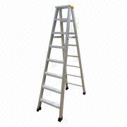 Aluminum double sides ladder from China (mainland)