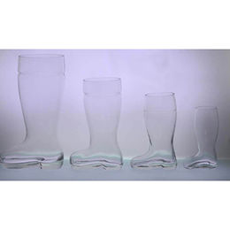 Clear Boot-shaped Beer Glasses from China (mainland)