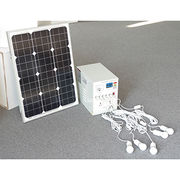 30W portable solar power system from China (mainland)