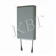 China 806-2700MHz Wall Mount Antenna with 6/8/8dBi Gain, 50W Power for Wi-Fi, WLAN and LTE