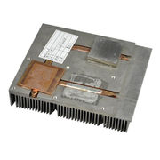 China Heat sink , Low profile computer heat sink , heat sink with copper pipe