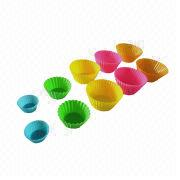 Silicone cupcake molds from China (mainland)