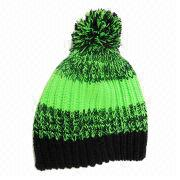 Cashmere Knitted Hat from China (mainland)