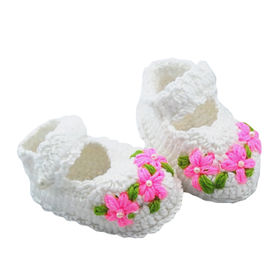 Baby Crochet Booties from China (mainland)
