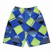 China Men's Printed Board Shorts