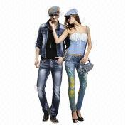 Man's and woman's jeans from China (mainland)