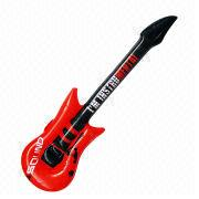 Inflatable toy guitar from China (mainland)