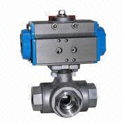 Three way ball valve from China (mainland)