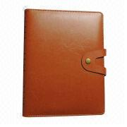PU leather hard cover book printing service from China (mainland)