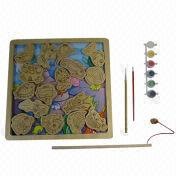Wooden DIY Fishing Puzzle from China (mainland)