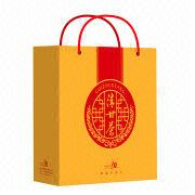 Color Paper Gift Bag Printing Service from China (mainland)
